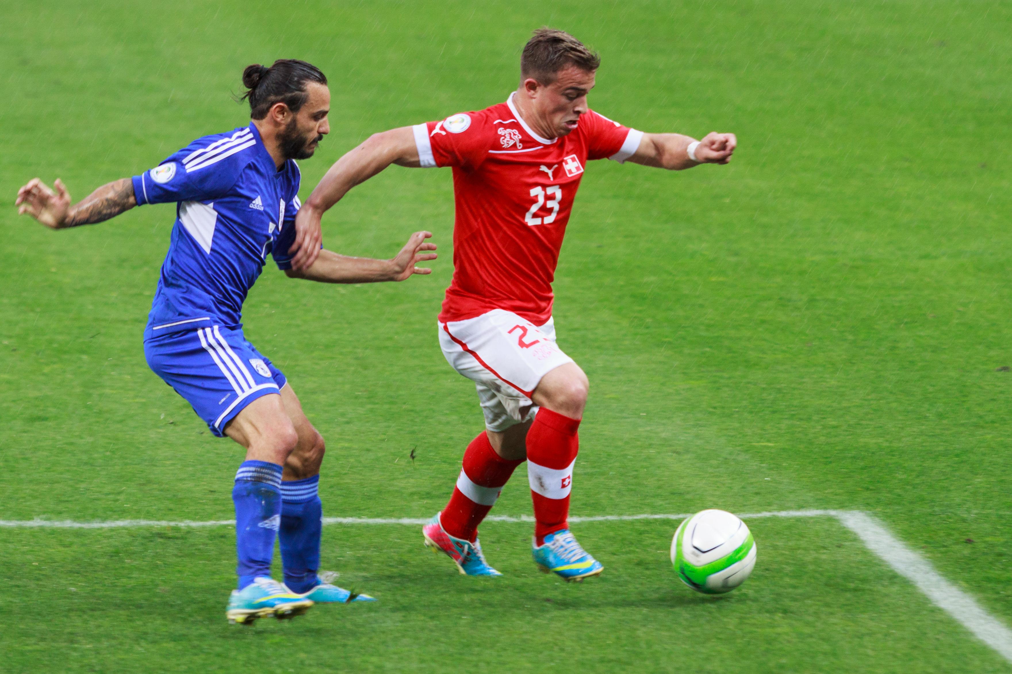 Footballa suisse origine Xherdan Shaqiri