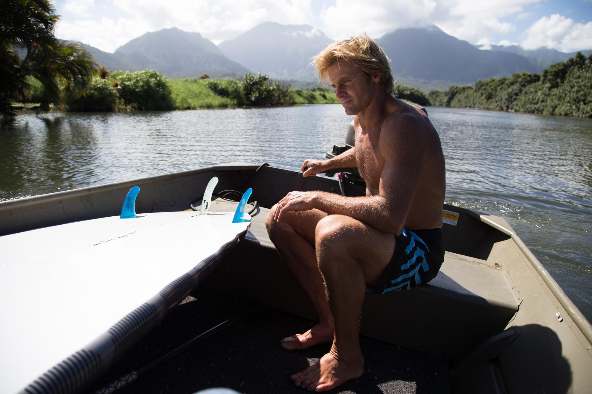laird hamilton paddle
