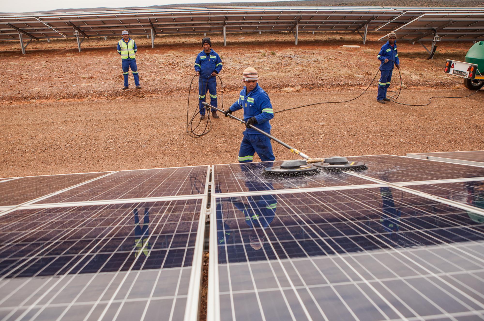 solaire afrique du sud