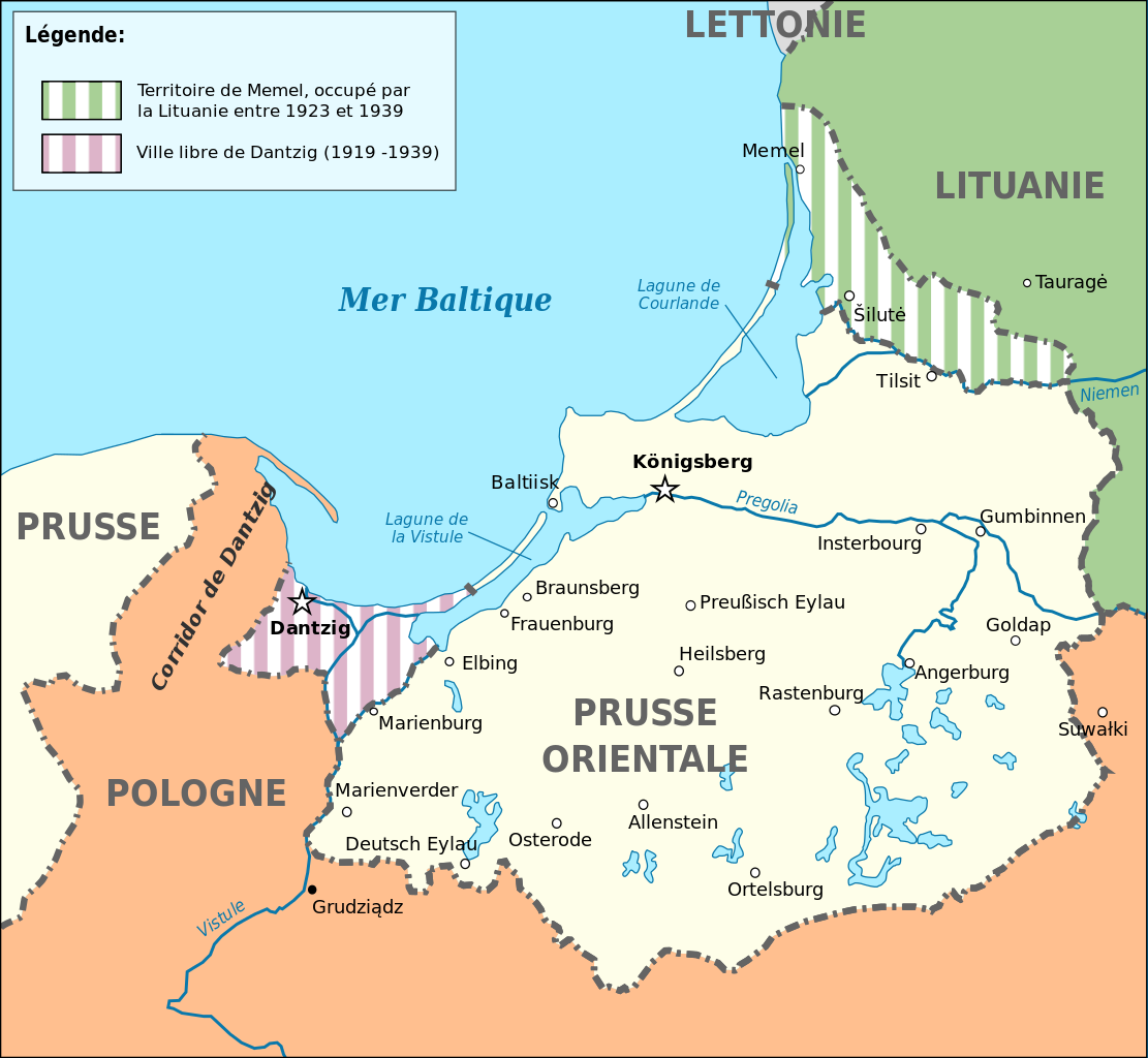 allemands lituanie