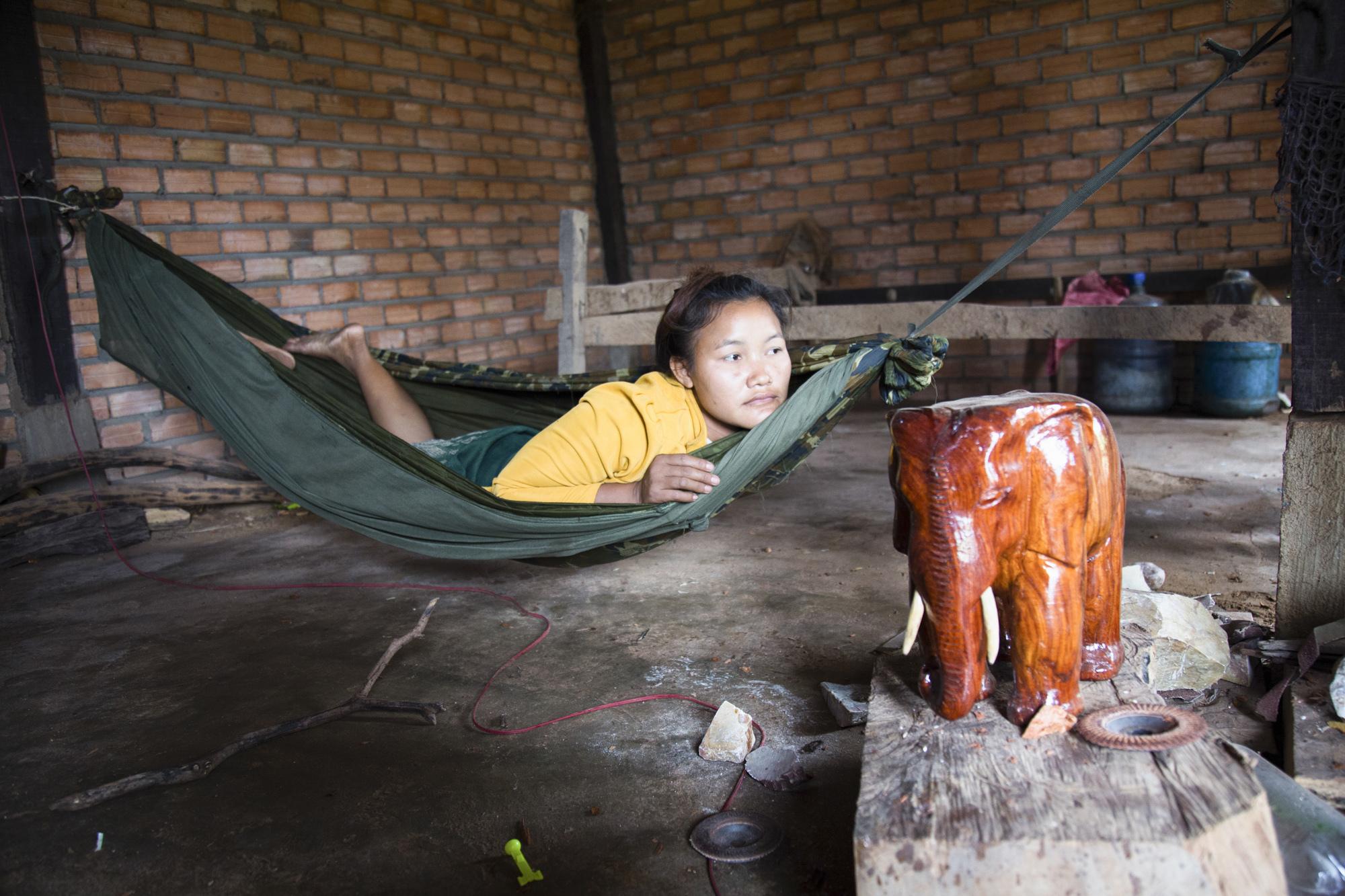 laos caoutchouc