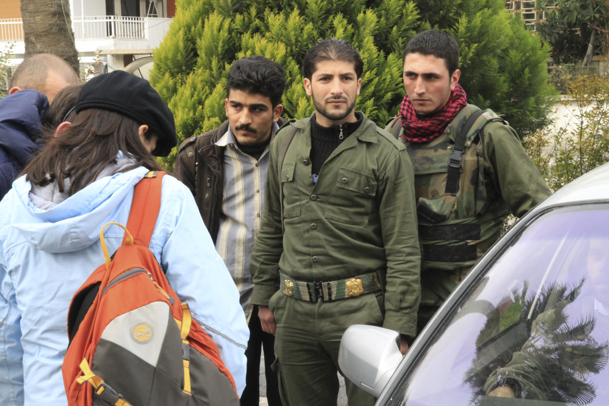 journalistes syrie Intercept