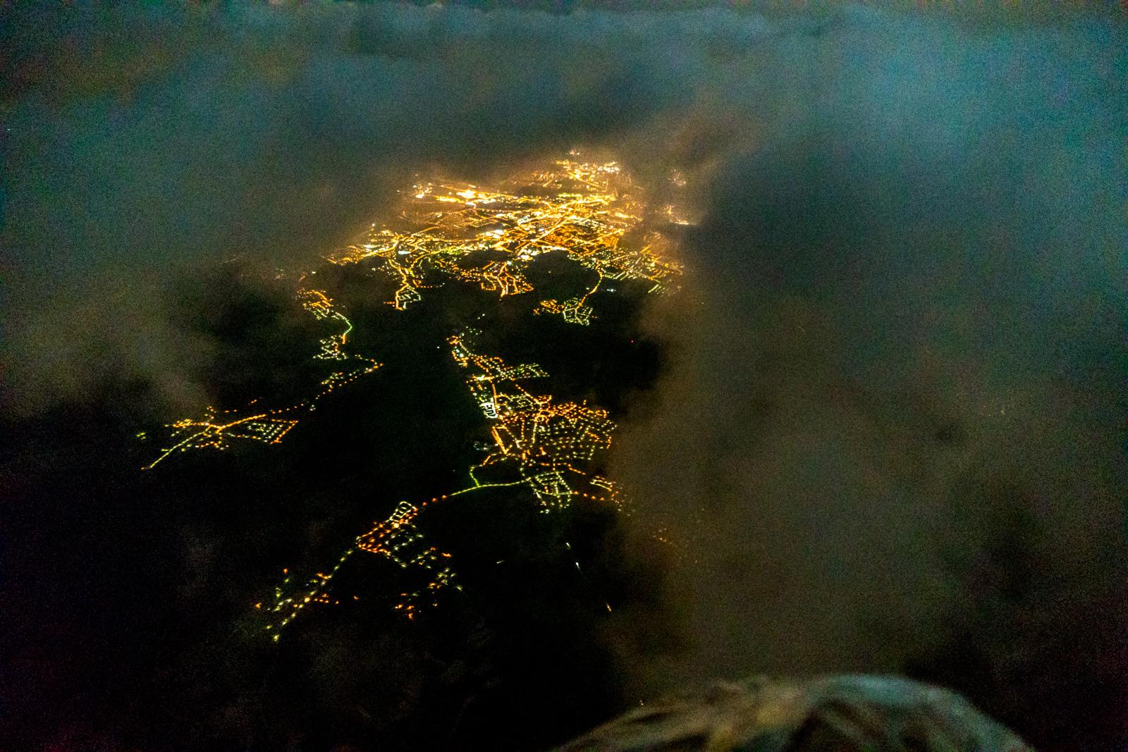 Montgolfiere nuit